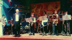 Оркестр духовых инструментов