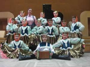 Учащиеся хореографического отделения