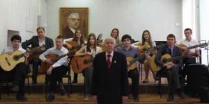 Ансамбль гитаристов, рук. Л. М. Кривоносов