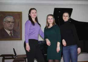 Преподаватели отдела С. Г. Ломоносова, И. В. Маяцкая, М. В. Шиман